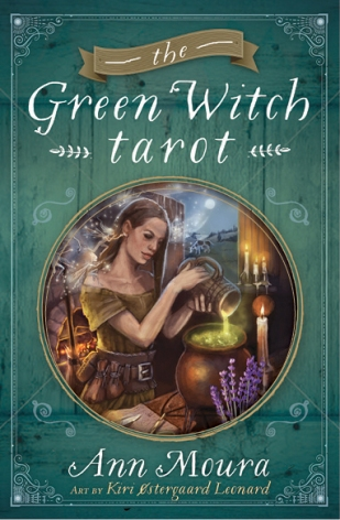 Green Witch Tarot Cover